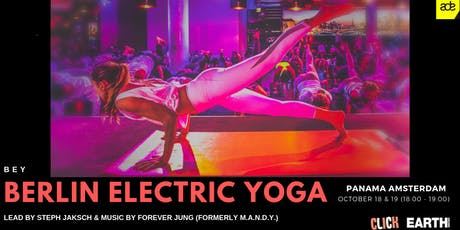 Electric Yoga ADE 18.10.19 (18:00 - 19:00) tickets