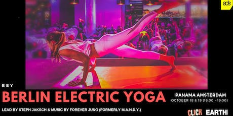 Electric Yoga ADE 17.10.19 (18:00 - 19:00) tickets