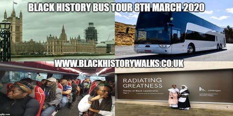 Black History Bus Tour (March 2020) tickets