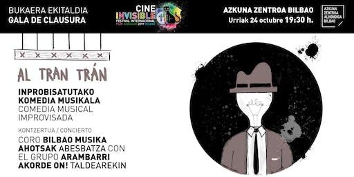"Gala de Clausura 11º Festival de Cine Invisible ""Film Sozialak"" Bilbao 2019"