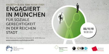 Engagiert in München – Für soziale Gerechtigkeit in der reichen Stadt Tickets