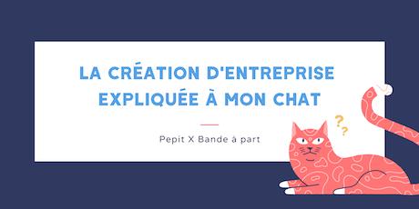 Atelier freelance : la création d'entreprise expliquée à mon chat billets