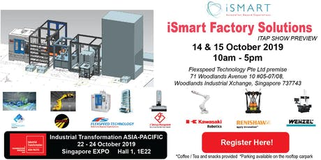iSmart Factory Solutions Open House  tickets
