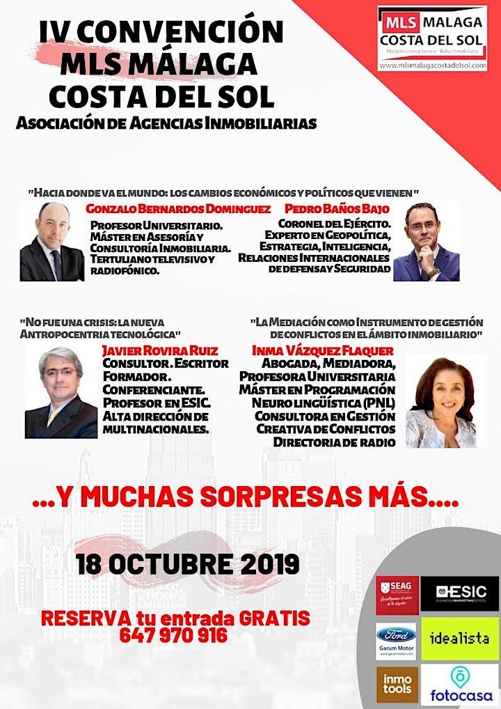 Imagen de IV Convención Inmobiliaria de MLS MÁLAGA-COSTA DEL SOL