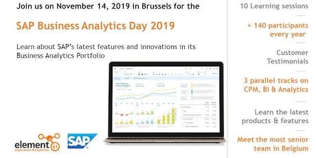 SAP Business Analytics Day 2019 tickets