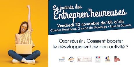 Journée Les Entrepren'Heureuses Jura billets