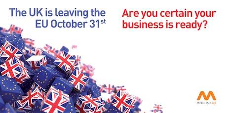 Medilink UK Brexit Webinar (Supply Chain Logistics) tickets