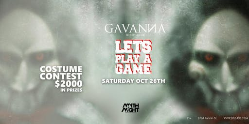 The Game @Gavanna  Nightclub