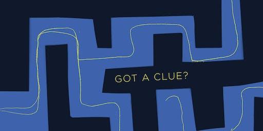 Got a clue?