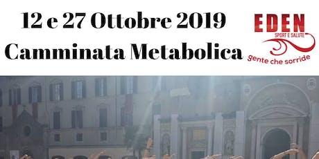 Camminata Metabolica biglietti
