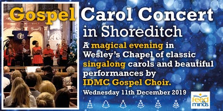 Gospel Carol Concert in Shoreditch tickets