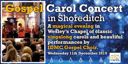Gospel Carol Concert in Shoreditch