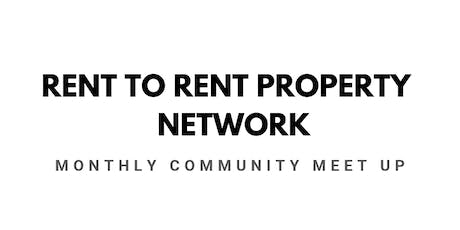 Rent To Rent Property Network Meet up tickets