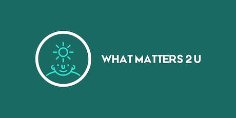 "What matters 2 u - ""Grow As We Go"" tickets"