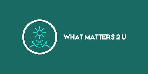 "What matters 2 u - ""Grow As We Go"""
