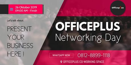 Officeplus Networking Event tickets