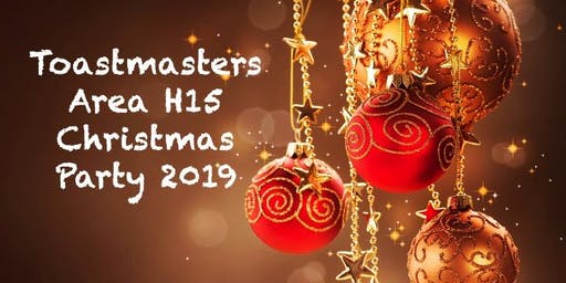 Toastmasters Area H15 Christmas Party 2019