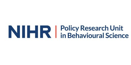 NIHR Policy Research Unit in Behavioural Science Launch Event tickets