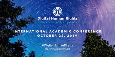 Digital Human Rights -  International Academic Conference (Paris edition) billets