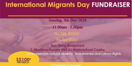 International Migrants Day Fund Raiser tickets