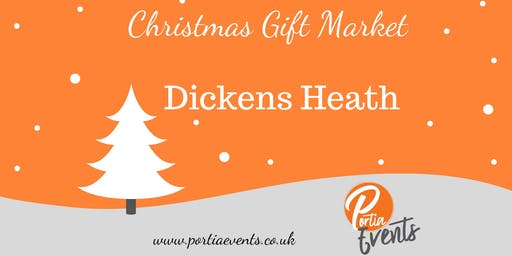 Dickens Heath Christmas Gift Market