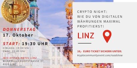 Crypto Night: Wie Du Von Digitalen Währungen Maximal Profitierst! Tickets