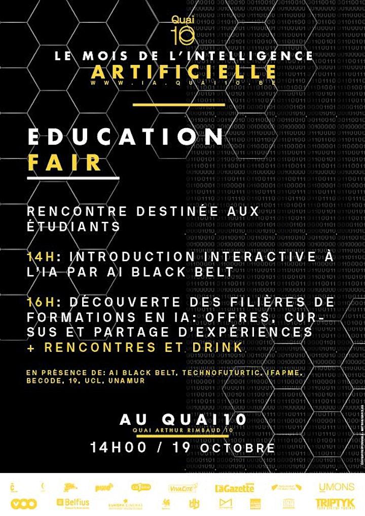 Image pour Education Fair -  Initiation et découverte des filières de formations en IA