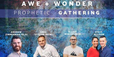 Awe & Wonder - Prophetic Gathering tickets