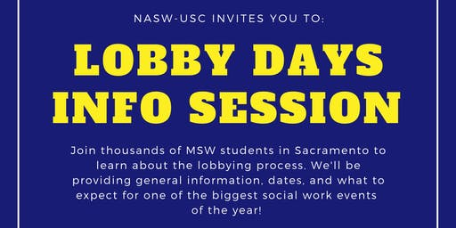 Lobby Days Info Session #1