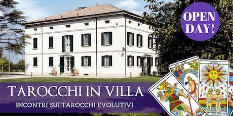 Tarocchi in Villa - Incontri sui Tarocchi Evolutivi - OPEN DAY biglietti
