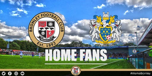 Bromley v Stockport County (HOME FANS)