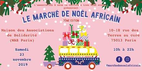 Le Marché de Noël africain 2019 - 7ème édition billets