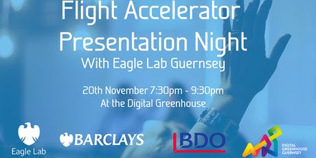 Flight Accelerator Presentation Evening tickets