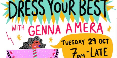 Dress Your Best with Genna Amera tickets