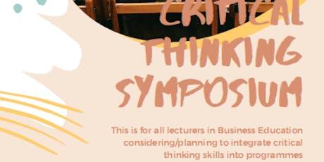Critical Thinking Seminar & Symposium tickets
