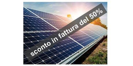 DECRETO CRESCITA e ECOBONUS 2019 nuove opportunità per il fotovoltaico biglietti