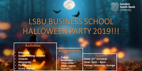 Student Halloween Party tickets