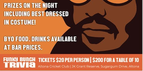 Altona Cricket Club - Trivia Night tickets