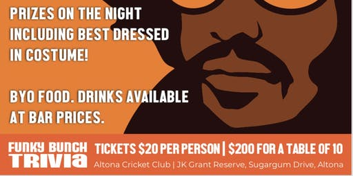 Altona Cricket Club - Trivia Night