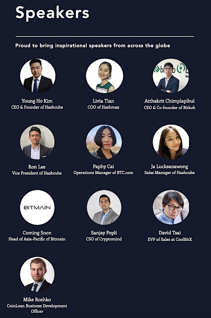 Asia Cryptocurrency Investment Forum image