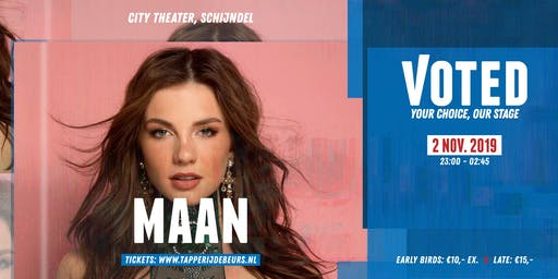 MAAN | VOTED - City Theater, Schijndel