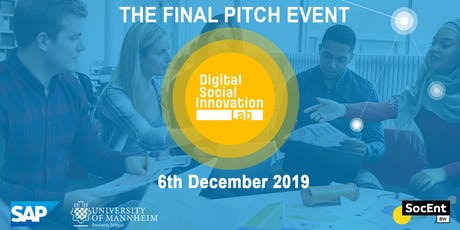 DSILab: Final Pitch Event Tickets