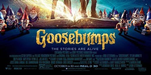 Goosebumps - Outdoor Movie Screening