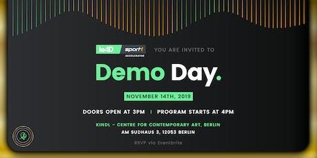 leAD SPORT1 Accelerator Demo Day 2019  tickets