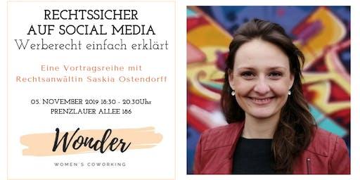 Rechtssicher auf Social Media: Werberecht einfach erklärt