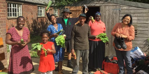 Community Garden Food Sharing Event