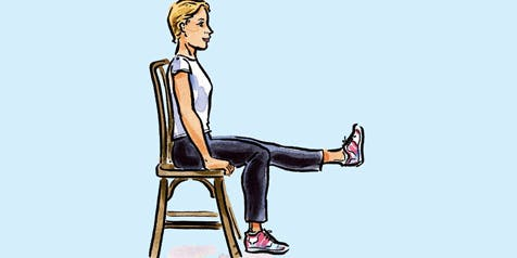 Free Chair Based Exercise