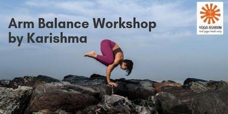 Arm Balance Workshop tickets