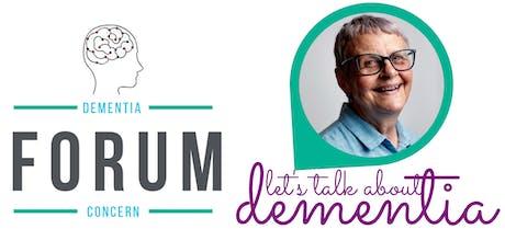 Dementia Concern Forum 2019 featuring Wendy Mitchell tickets