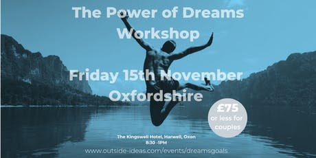 The Power of Dreams Workshop - November 2019 tickets